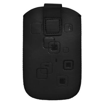 Puzdro koženkové pre Sam. S6102, Sam. E2652W, Sam. S5300, Sam. Star III, Sam. S5360, Nokia C2-06, Nokia 202, Nokia C5-03, Nokia As