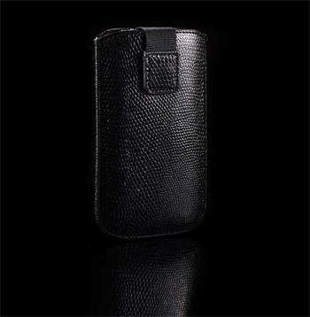 Púzdro SNAKE, Čierna, Nokia E51, Nokia E52, Nokia C5, Samsung S7220