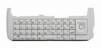 Qwerty klávesnice Nokia C6 White Czech