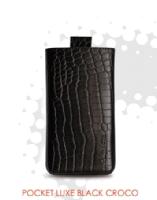 Red Point pouzdro Valenta pocket Black Croco Galaxy S II (i9100)
