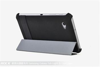 ROCK Eternal Kožené Pouzdro Polohovací Black pro Samsung P3100/P3110