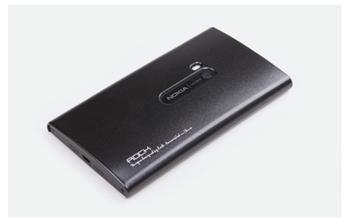 ROCK Extra Shell Zadní Kryt pro Nokia Lumia 920 Black