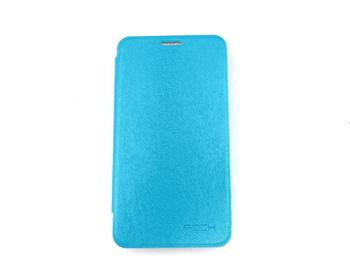ROCK Flip Kožené Pouzdro pro Samsung i8750 Ativ S Light Blue