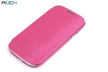 ROCK Flip Kožené Pouzdro pro Samsung N7100 Galaxy Note2 Rose Red
