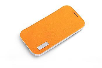 ROCK Folio Elegant Pouzdro pro Samsung i9500 Galaxy S4 Orange