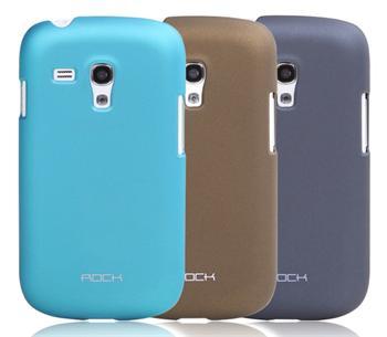 ROCK Hard Shell Zadní Kryt pro Samsung i8190 Galaxy S3mini Dark Grey