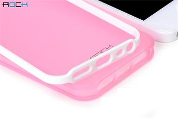 ROCK JoyFul TPU Pouzdro pro iPhone 5, 5S, SE, Pink