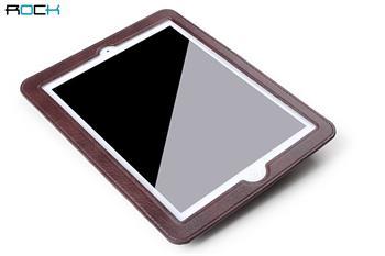 ROCK Kožené Pouzdro do Auta Coffee pro iPad 2,3,4