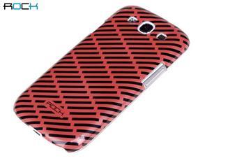 ROCK Luxury Shell Zadní Kryt pro Samsung S3 (i9300/S3 i9301 Neo) Red