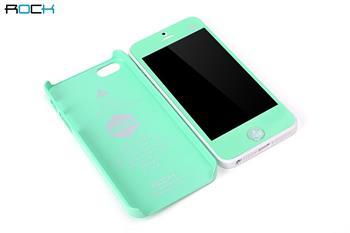 ROCK New Naked Shell Zadní Kryt pro iPhone 5, 5S, SE Green