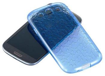 SAMGSVTPUBL Samsung Original TPU Pouzdro Modré pro (i9300/S3 i9301 Neo) (EU Blister)