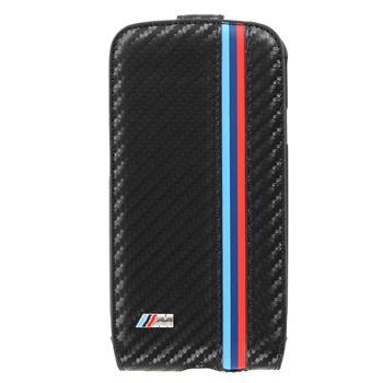 "Samsung (i9300/S3 i9301 Neo) Galaxy S3 BMFLS3MC BMW ""M"" Collection Carbon Flip Kožené Pouzdro (EU Blister)"