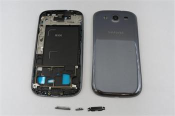 Samsung i9300 Titanium Grey Kompletní Kryt