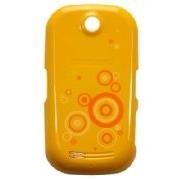Samsung S3650corby kryt baterie Yellow kruhy (Bulk)