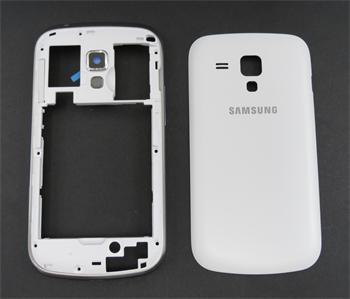 Samsung S7562 Galaxy S Duos White Komplet Kryt