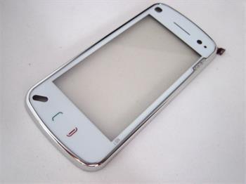 Sklíčko + dotyková plocha Nokia N97 + rám White
