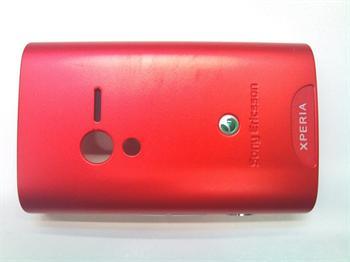 SONY ERICSSON KRYTY X10 mini kryt na batériu Red