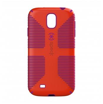 Speck Candyshell Grip Red Pink Pouzdro pro Samsung i9505 Galaxy S4 (EU Blister)