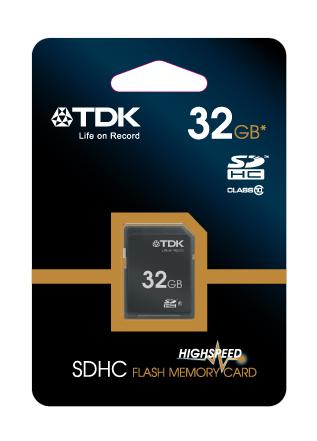 TDK SDHC 32 GB Travelcard Class 10 (t78717)