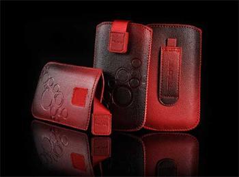 TelOne Deko 3 Pouzdro Red pro Samsung (S3 i9300/S3 i9301 Neo), One X,..