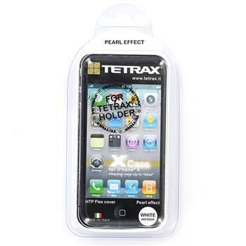 Tetrax XCase Silikonové pouzdro pro Apple iPhone 4/ 4S White (EU Blister)