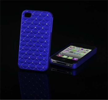 Tvrdé puzdro Diamond iPhone 5/5S/SE, Zafírový
