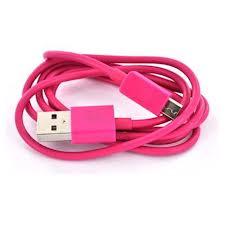 Universal microUSB Datový Kabel Red (Bulk)