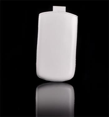 Vsuvka Pravá Koža Future Samsung i8190, S3 mini Biela