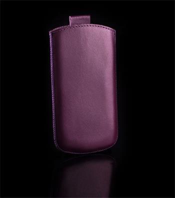 Vsuvka Pravá Koža Future Sony Xperia J ST26i Fialová